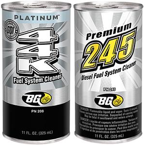 Lab Q&A: BG Platinum™ 44K® and BG 245