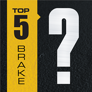 Top 5 Googled Questions About Brakes