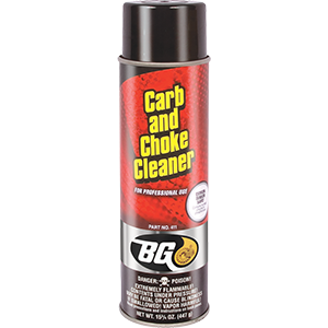 BG Carb and Choke Cleaner