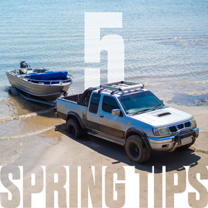 5 Spring maintenance tips for trucks that tow boats