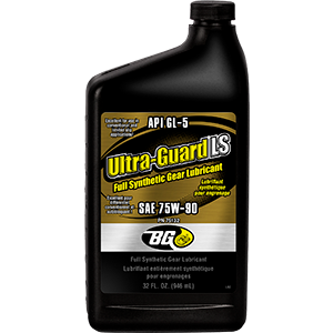 BG Ultra-Guard® LS Full Synthetic Gear Lubricant