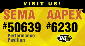 BG has something for everyone at SEMA and AAPEX!
