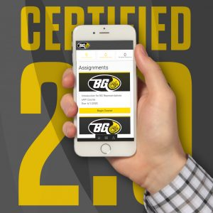 Explore the updated BG Certified training program