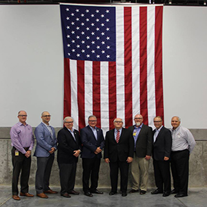 Congressman Ron Estes visits BG Products