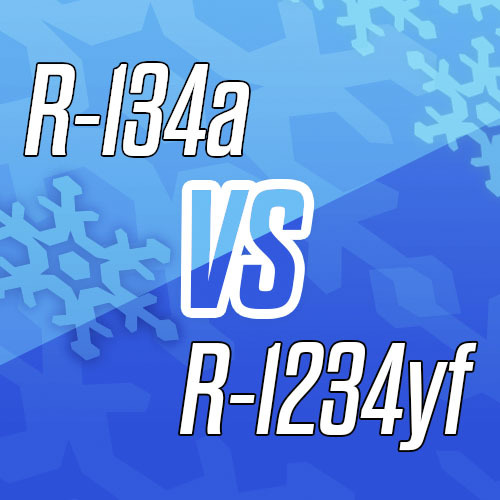 Servicing automotive a/c systems: The difference between R-134a and R-1234yf