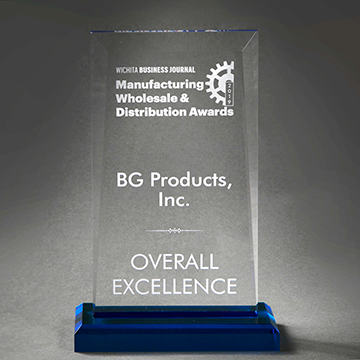 BG awarded Overall Excellence two years in a row