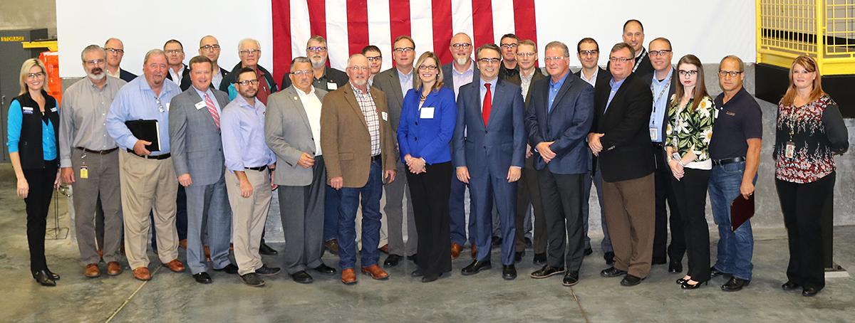 governor colyer, wichita, kansas, manufacturing day
