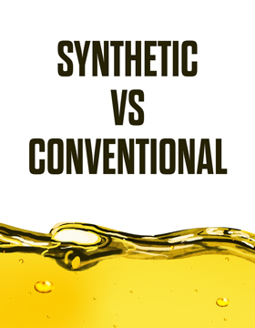Synthetic vs conventional oil. Which one should you use?