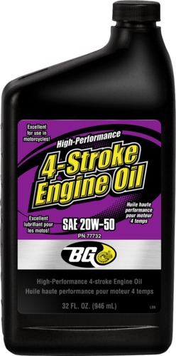 BG 77732 | BG High-Performance 4-Stroke Engine Oil