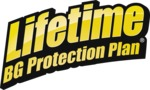 BG Lifetime BG Protection Plan logo | BG Universal Synthetic Power Steering Fluid