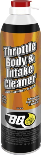 BG Throttle Body & Intake Cleaner | BG Products, Inc