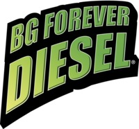 BG Forever Diesel logo | BG the first to offer lifetime diesel engine coverage at any mileage