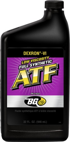 BG 31632 Low Viscosity Full Synthetic ATF | BG DEXRON®-VI Low Viscosity Full Synthetic ATF