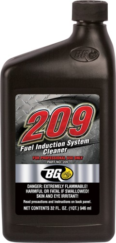 BG Fuel Induction System Cleaner 209 | BG 209 Fuel Induction System Cleaner