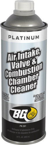 BG BG Air Intake, Valve & Combustion Chamber Cleaner | BG Platinum® Air Intake, Valve & Combustion Chamber Cleaner