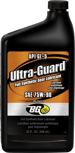 BG 75032 | BG Ultra-Guard® Full Synthetic Gear Lubricant
